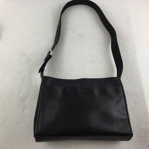Nine West Black Leather Handbag Purse Shoulder Bag